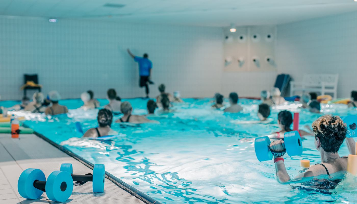 Vannkanten tilbyr vannaerobic i terapibasseng i Bergen