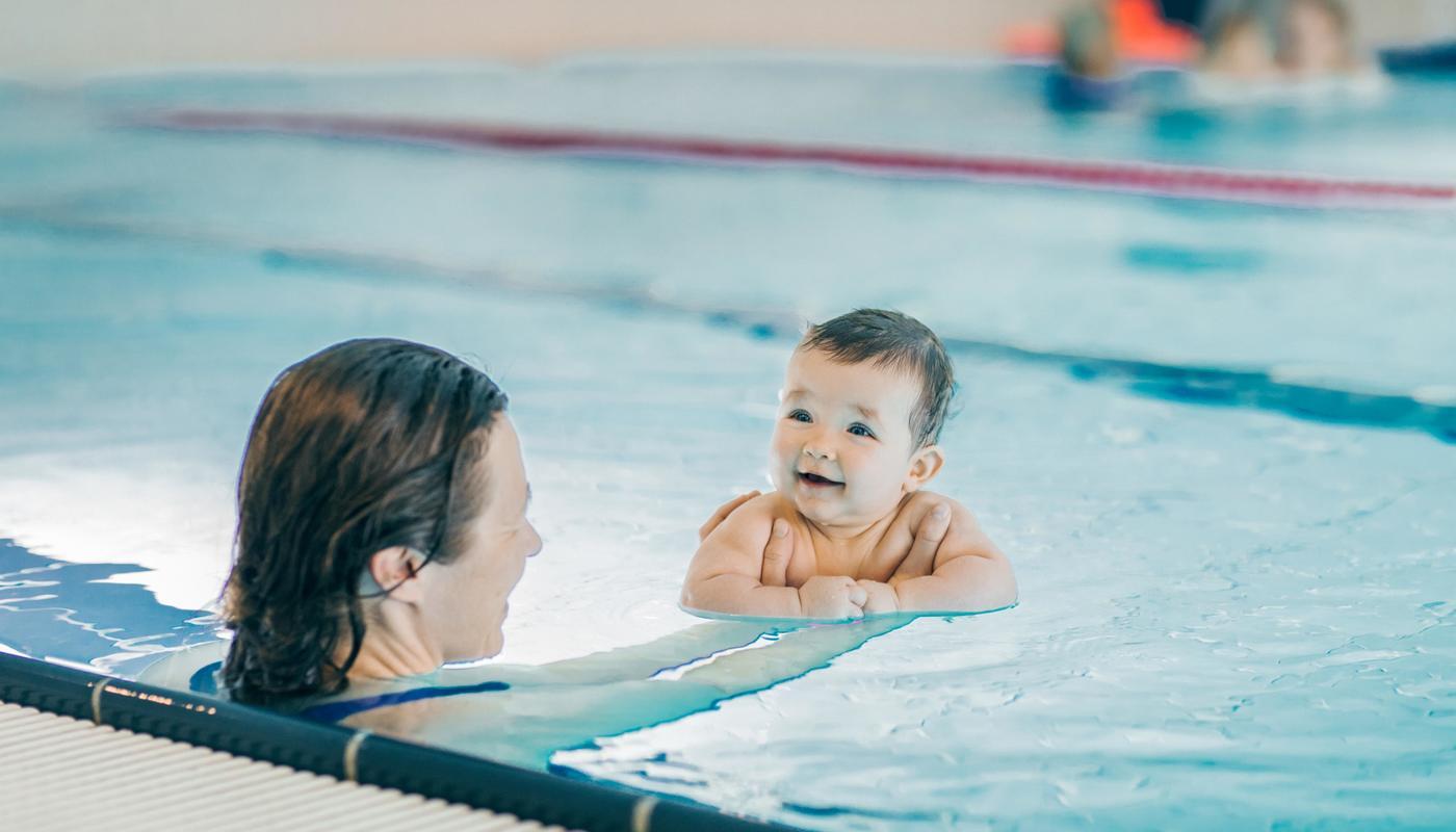 Vannkanten tilbyr babysvømming kort vei fra Bergen sentrum