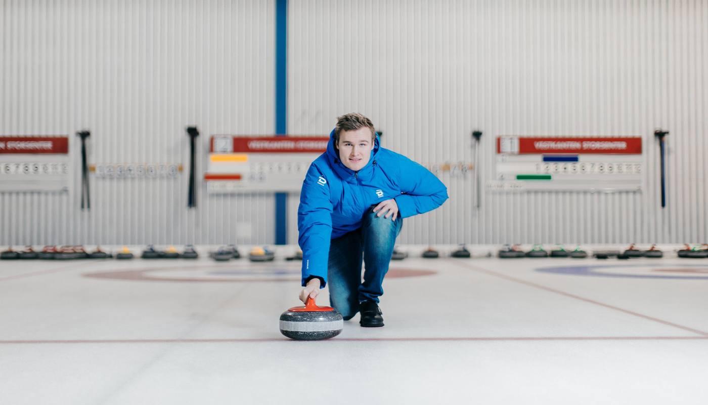 Curlingbanene på Vestkanten kan leies til bedriftsarrangement